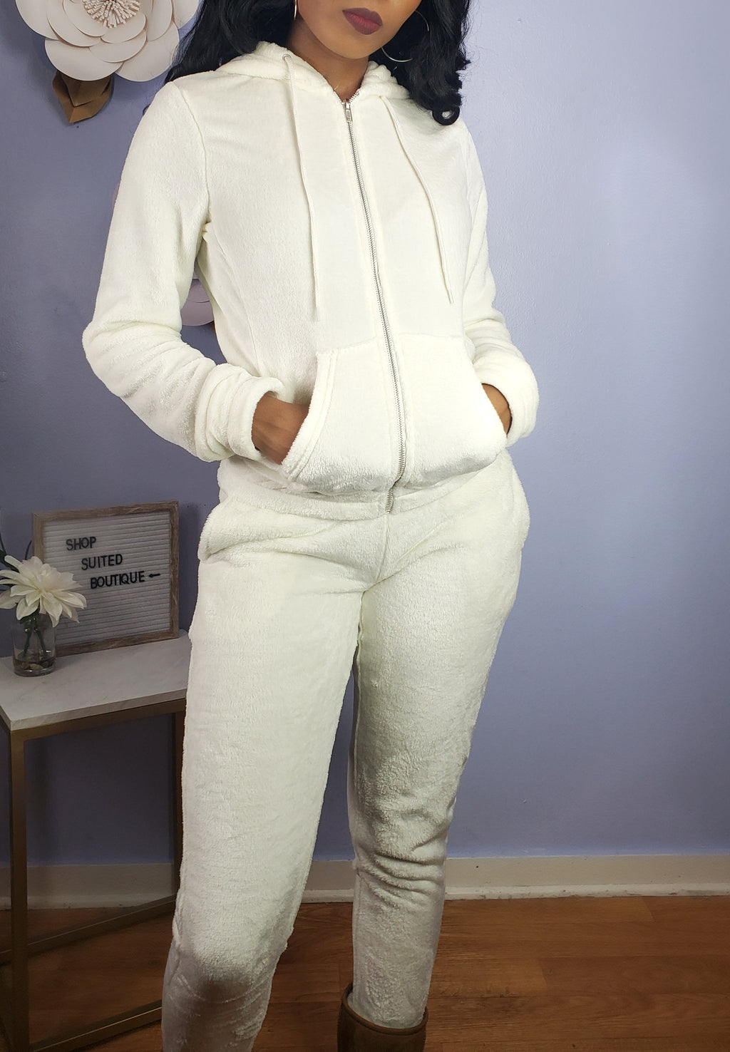 Dreamy - Plush Jogger Set