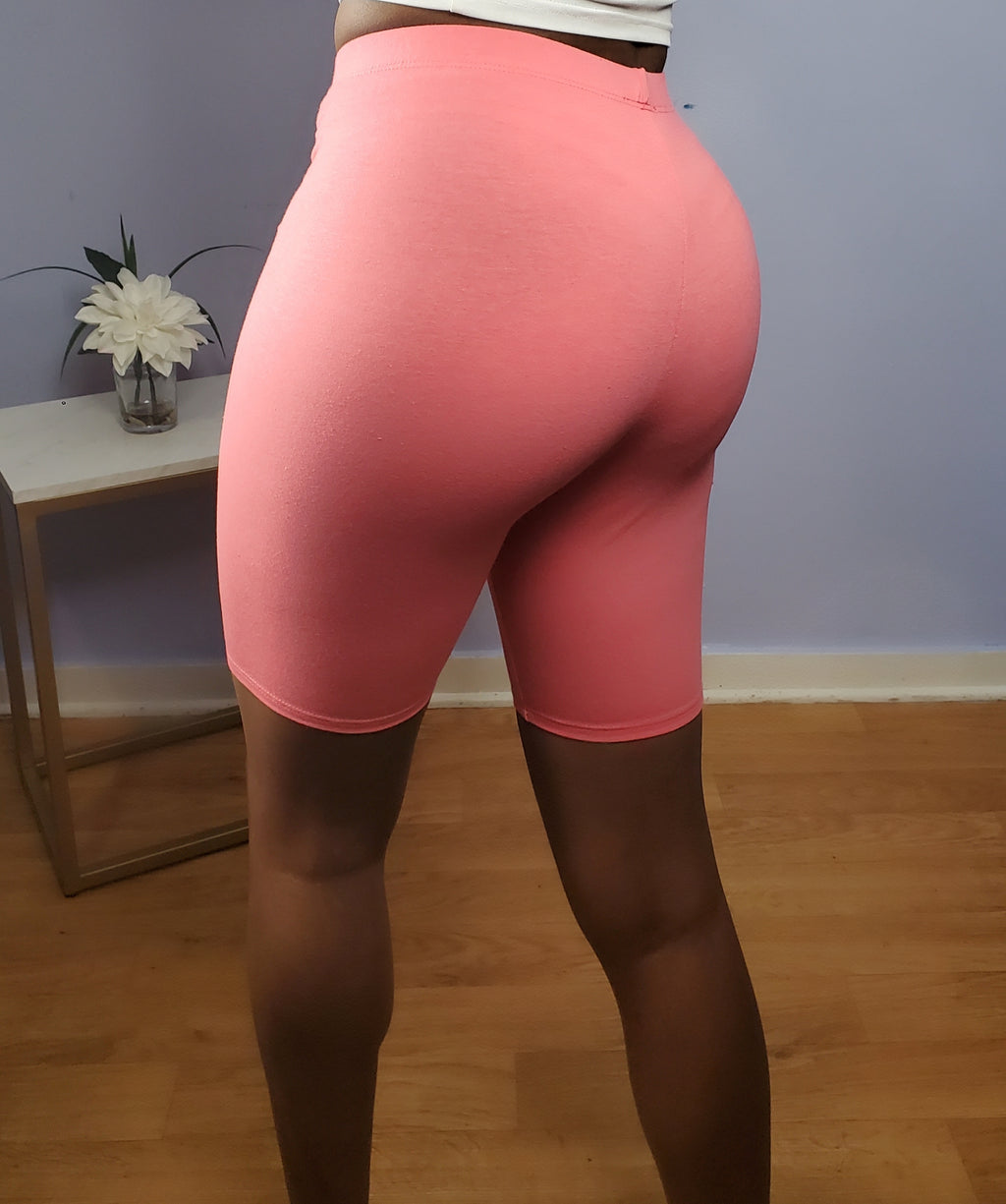 Biker Shorts - Light Pink