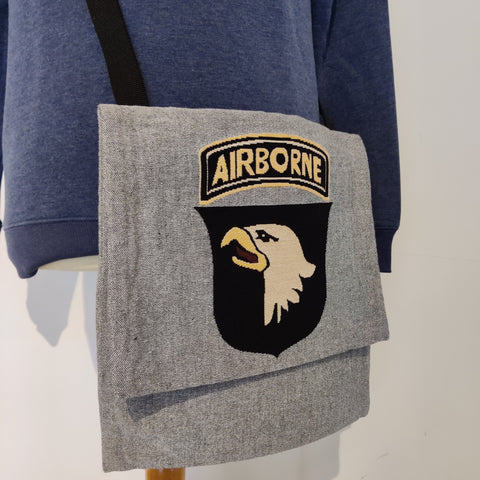 Besace grise 101st Airborne