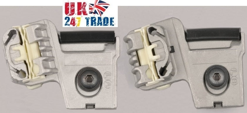 VW GOLF MK4 5 BORA FRONT LEFT PASSENGER SIDE WINDOW REPAIR KIT CLIPS 1000096-97