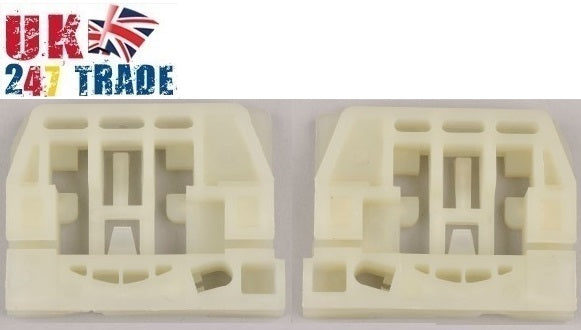 VW CADDY TOURAN FRONT LEFT AND RIGHT WINDOW REPAIR KIT SET 1005031-44