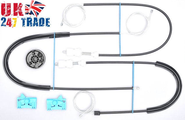 RENAULT LAGUNA 2 FRONT RIGHT WINDOW REPAIR KIT SET 1005113