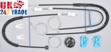 Load image into Gallery viewer, RENAULT LAGUNA 2 FRONT LEFT WINDOW REPAIR KIT SET 1005114