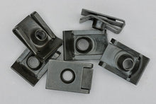 Load image into Gallery viewer, 10x SEAT SKODA RETENTION SPRING CLAMP PLATE CLIPS nut M6 6012