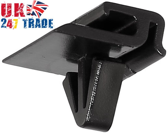 2x SEAT LEON TOLEDO WINDSCREEN RETAINING STRIP CLIPS 1008229