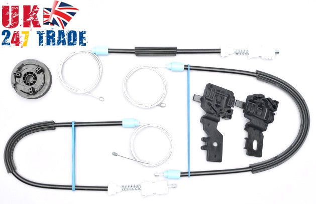 NISSAN PRIMERA P12 FRONT RIGHT WINDOW REPAIR KIT SET 1008980