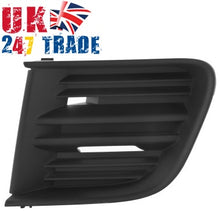 Load image into Gallery viewer, GENUINE SKODA OCTAVIA 2004 - 2013 FRONT LEFT BUMPER GRILLE 1Z0853665A 9B9