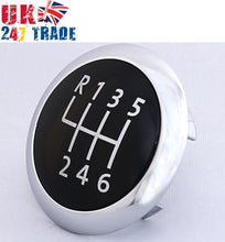 Load image into Gallery viewer, GENUINE GEAR KNOB CAP CHROME BADGE VW PASSAT B6 CC B7 6-SPEED 3C0711144A