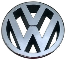 Load image into Gallery viewer, VW POLO Mk5 6R FRONT 120mm GRILLE EMBLEM CHROME BADGE 6R0853600A