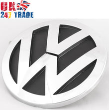 Load image into Gallery viewer, VW TOUAREG REAR TAILGATE BOOT 140mm GRILLE EMBLEM CHROME BADGE 7L6853630A