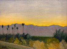 "Load image into Gallery viewer, ""Sunset Over the Mountains at the Salton Sea"""