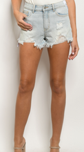 Load image into Gallery viewer, Light Blue Denim Shorts