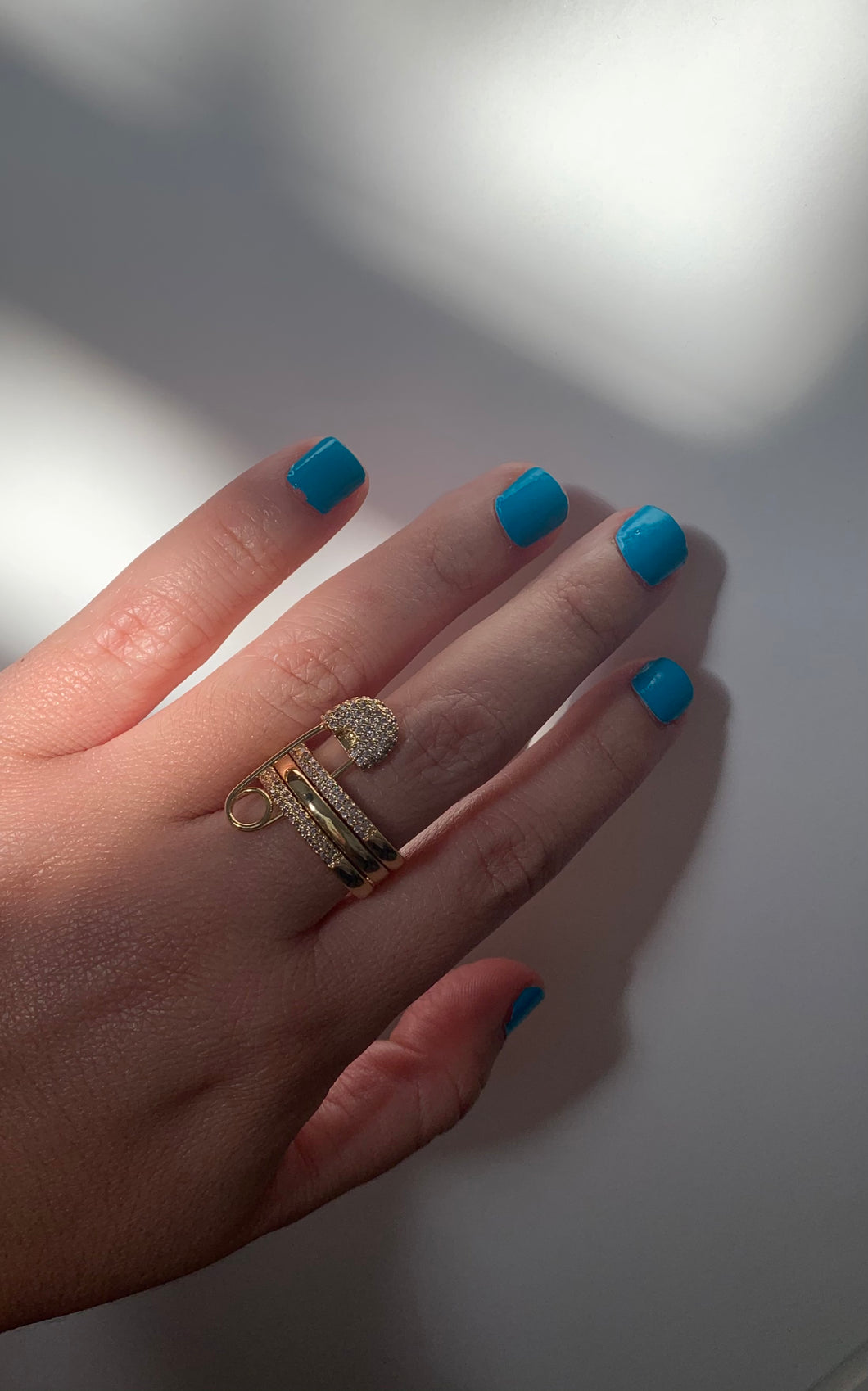 Paper Clips Ring