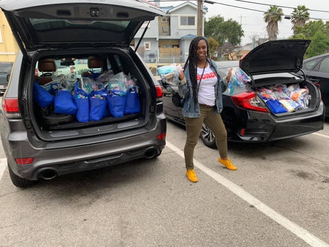 A Step to Freedom Blessing Bag Drive