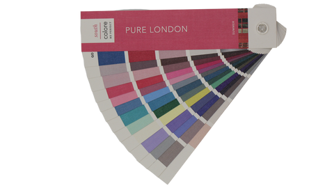 image of color palette swatch booklet