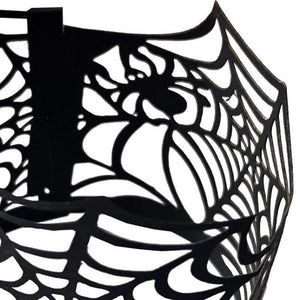 Halloween Decoration Electronic Candle Lace