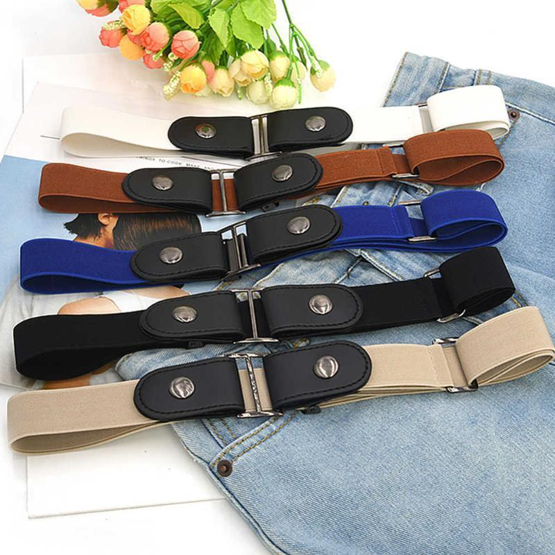 Buckle-free Invisible Elastic Waist Belts Super comfortable