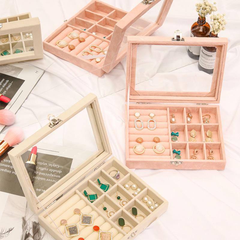 Earring Jewelry Storage Case