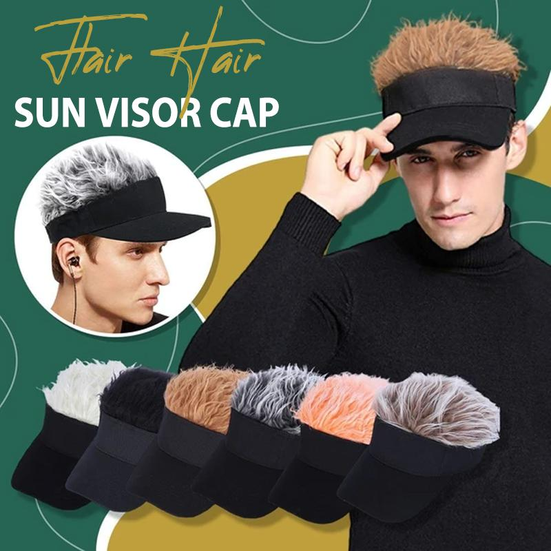 Flair Hair Sun Visor Cap