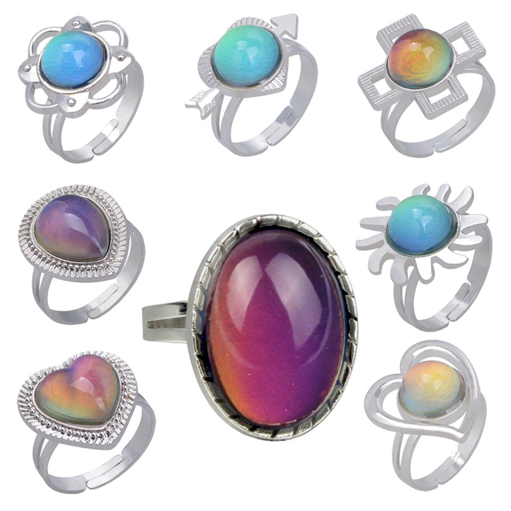 Emotion Feeling Change Color Ring