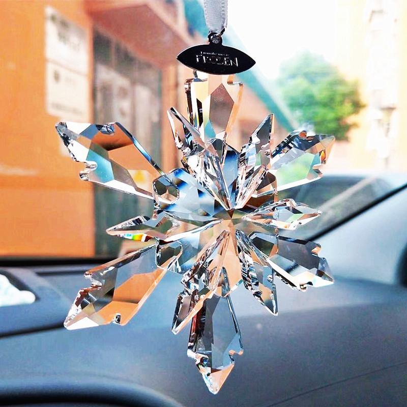 Car Decoration Snowflake Oranment