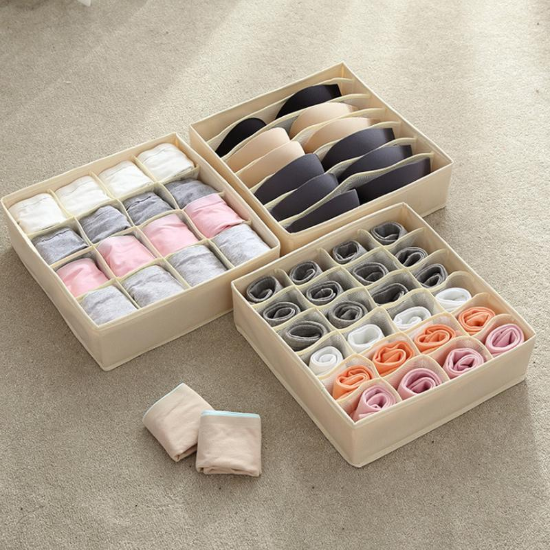 Clothes Storage Box Closet Organizer
