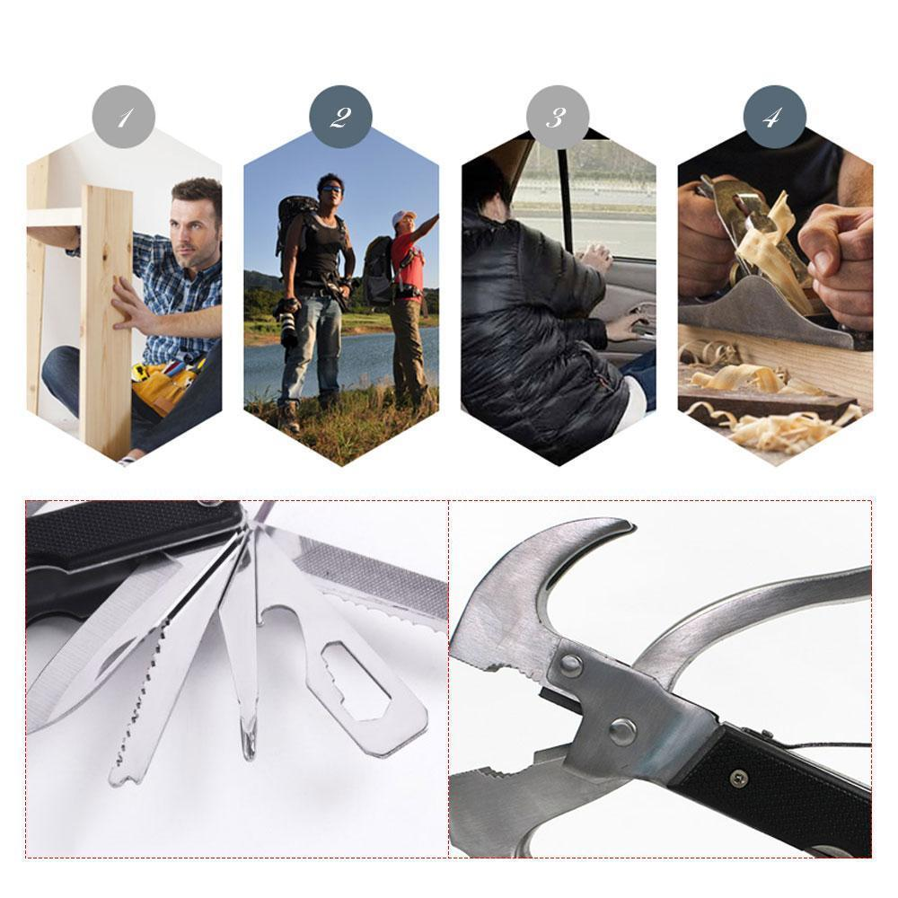 18-in-1 Multi-Tool, Small Size Easy To Carry