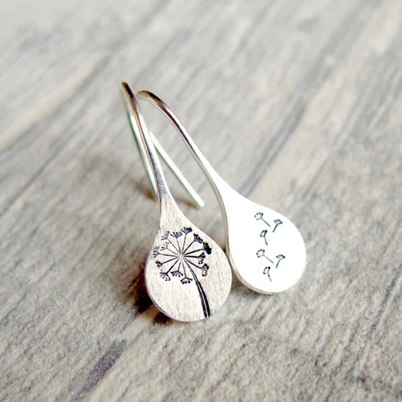 Nature-inspired Dandelion Earrings