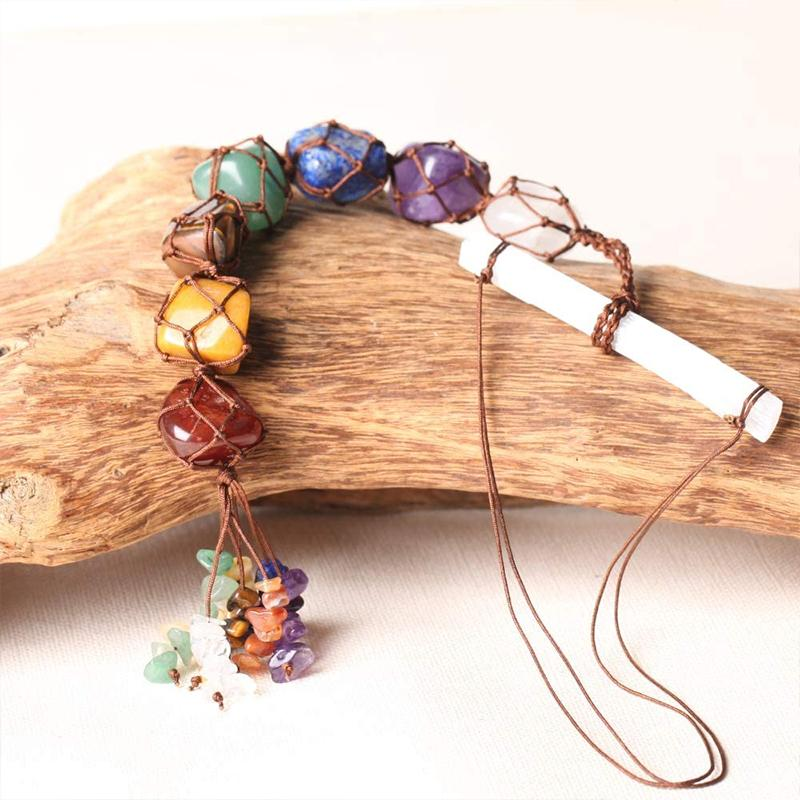 Irregular Gemstone Hanging Ornament