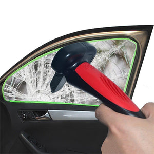 2 in 1 Car Escape Hammer & Door Handle
