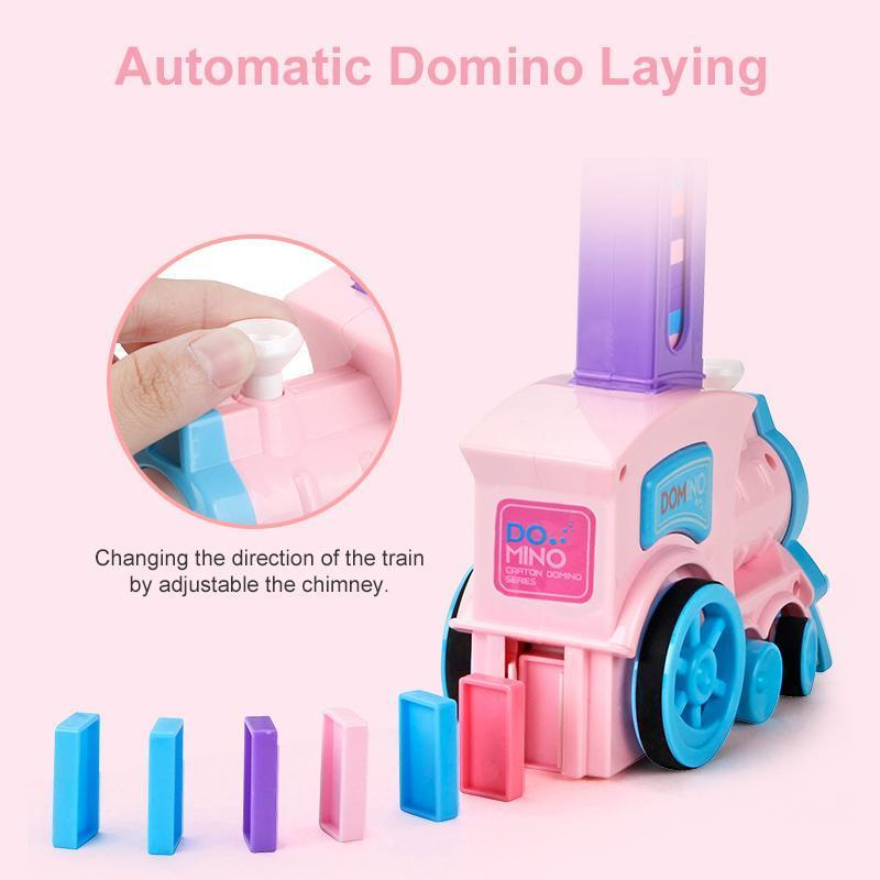 Domino Automatic Laying Toy Train