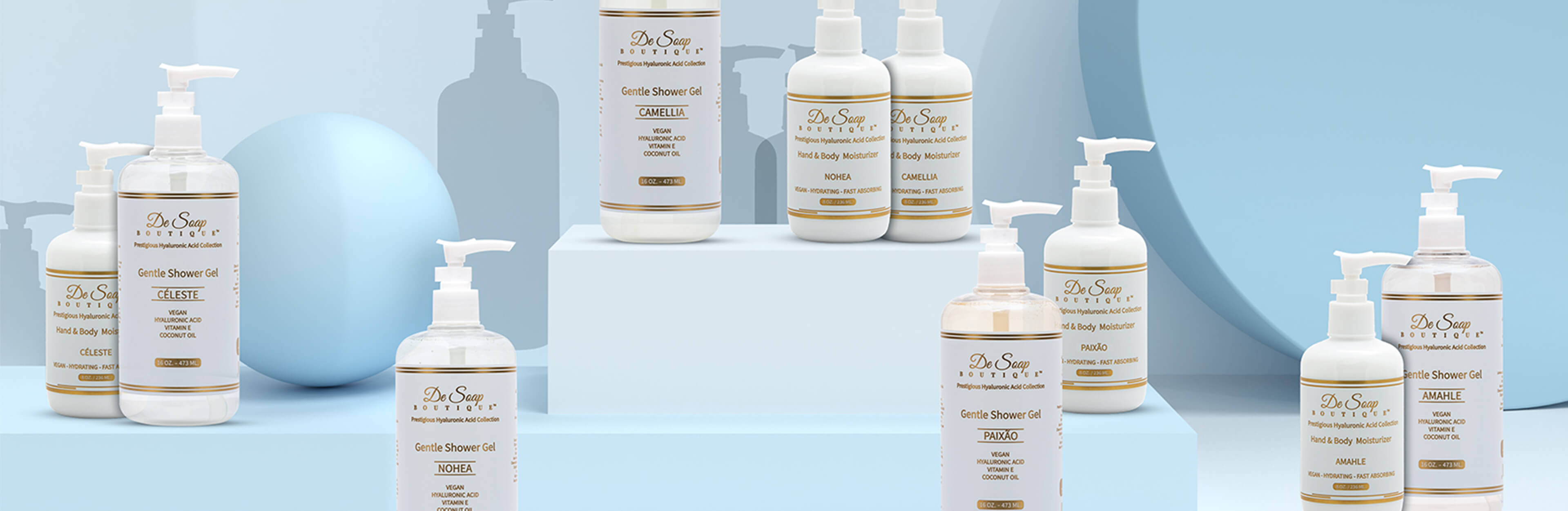 the moisturizers  collection banner image