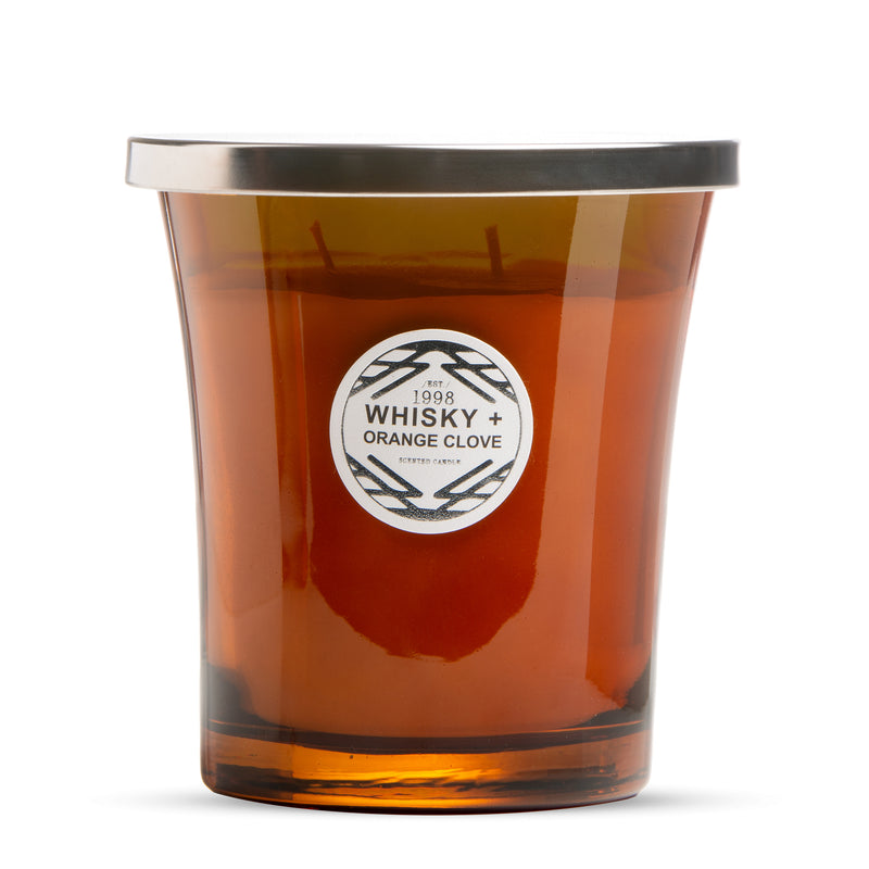 Whisky & Orange Clove Scented Candle
