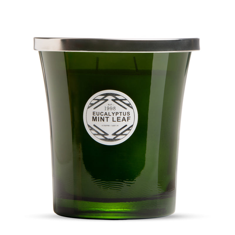 Eucalyptus Mint Leaf Scented Candle