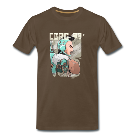 Men's Premium T-Shirt | Post-apocalyptic - Male Robot - 4Gamers.it