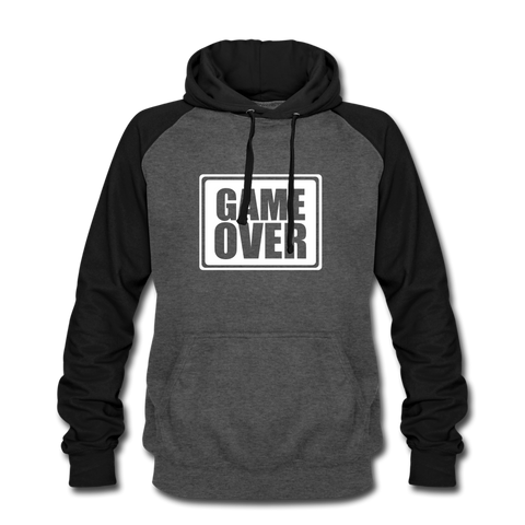Unisex Baseball Hoodie | Game Over - 4Gamers.it