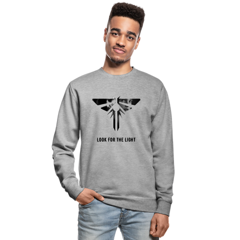 Unisex Sweatshirt | The Last of Us - Look for the light - 4Gamers.it