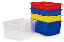 Load image into Gallery viewer, Small Plastic Bins - 4 Colours