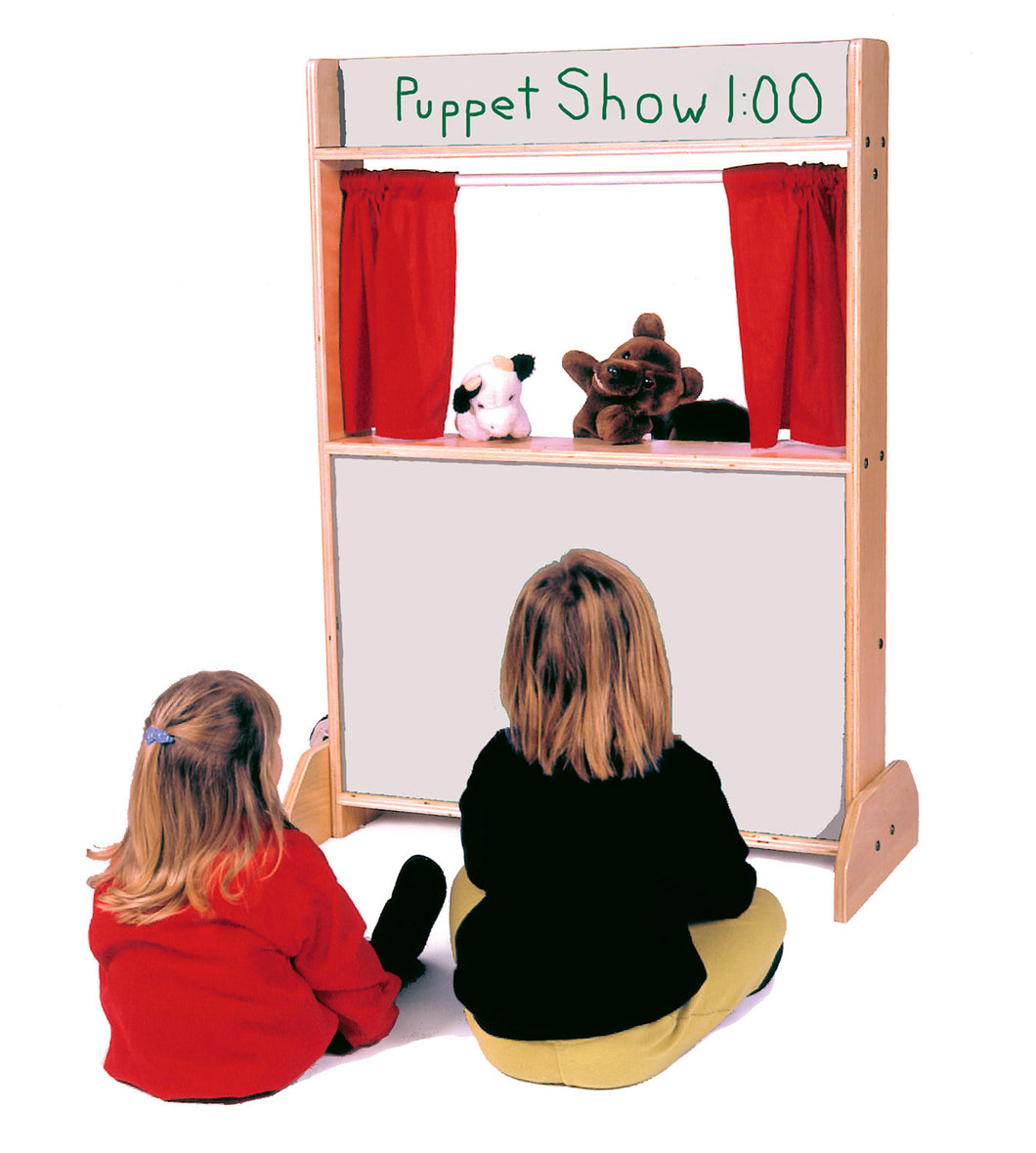 Puppet Stage & Store with Markerboard (D281-MB)