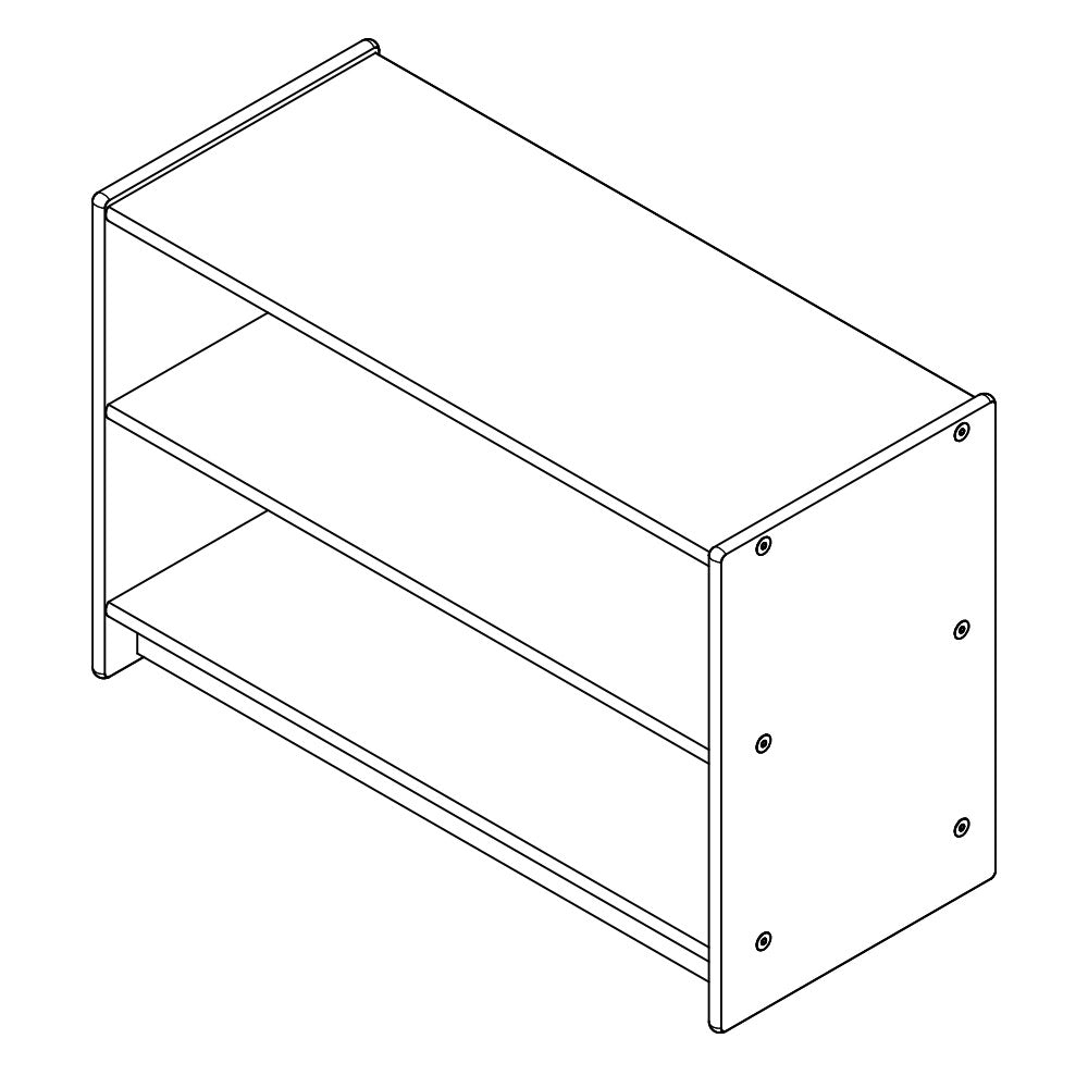 Deep Bookcase (S53624-16)