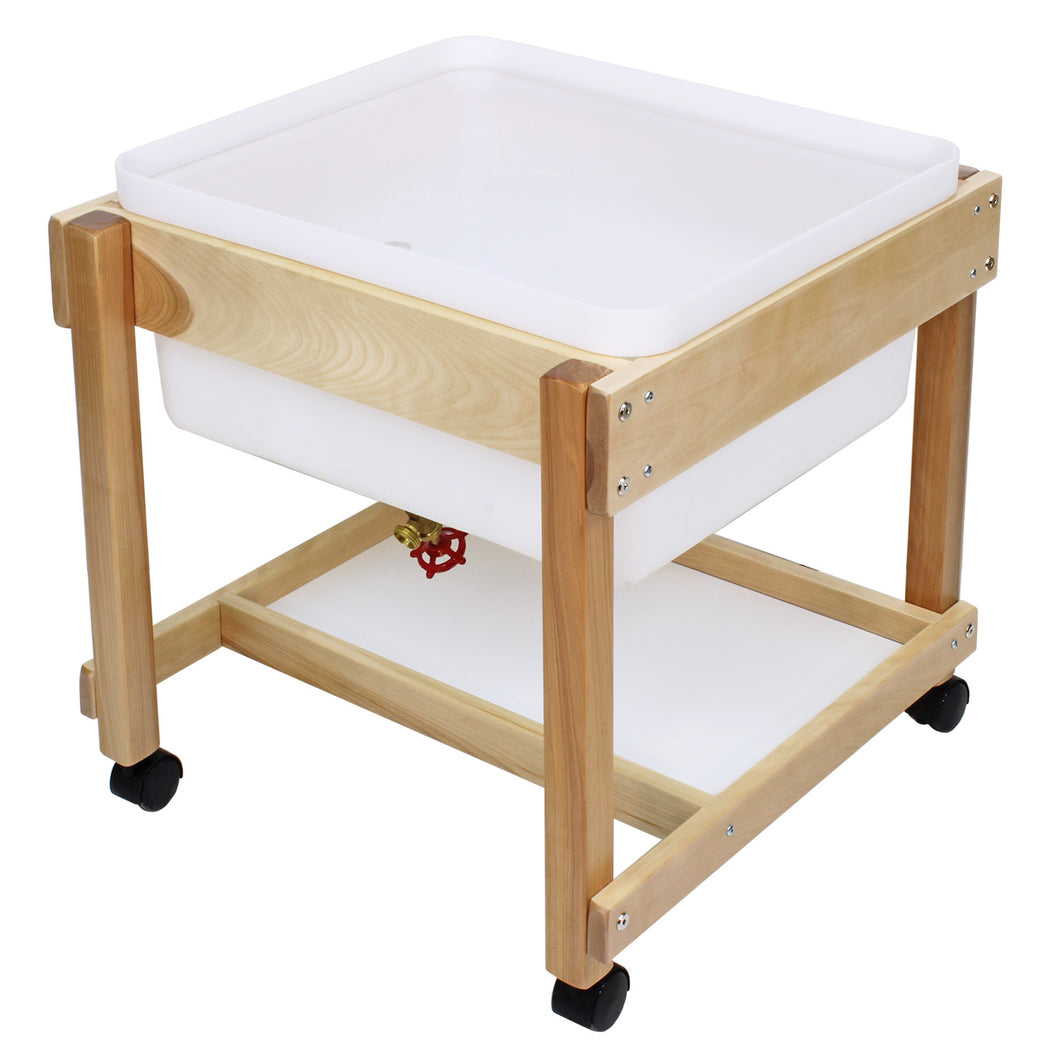 Water & Sand Tables with Hardwood Frames - 3 Versions