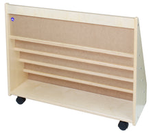 Load image into Gallery viewer, Primary Book Rack with 5 Shelves (S324)