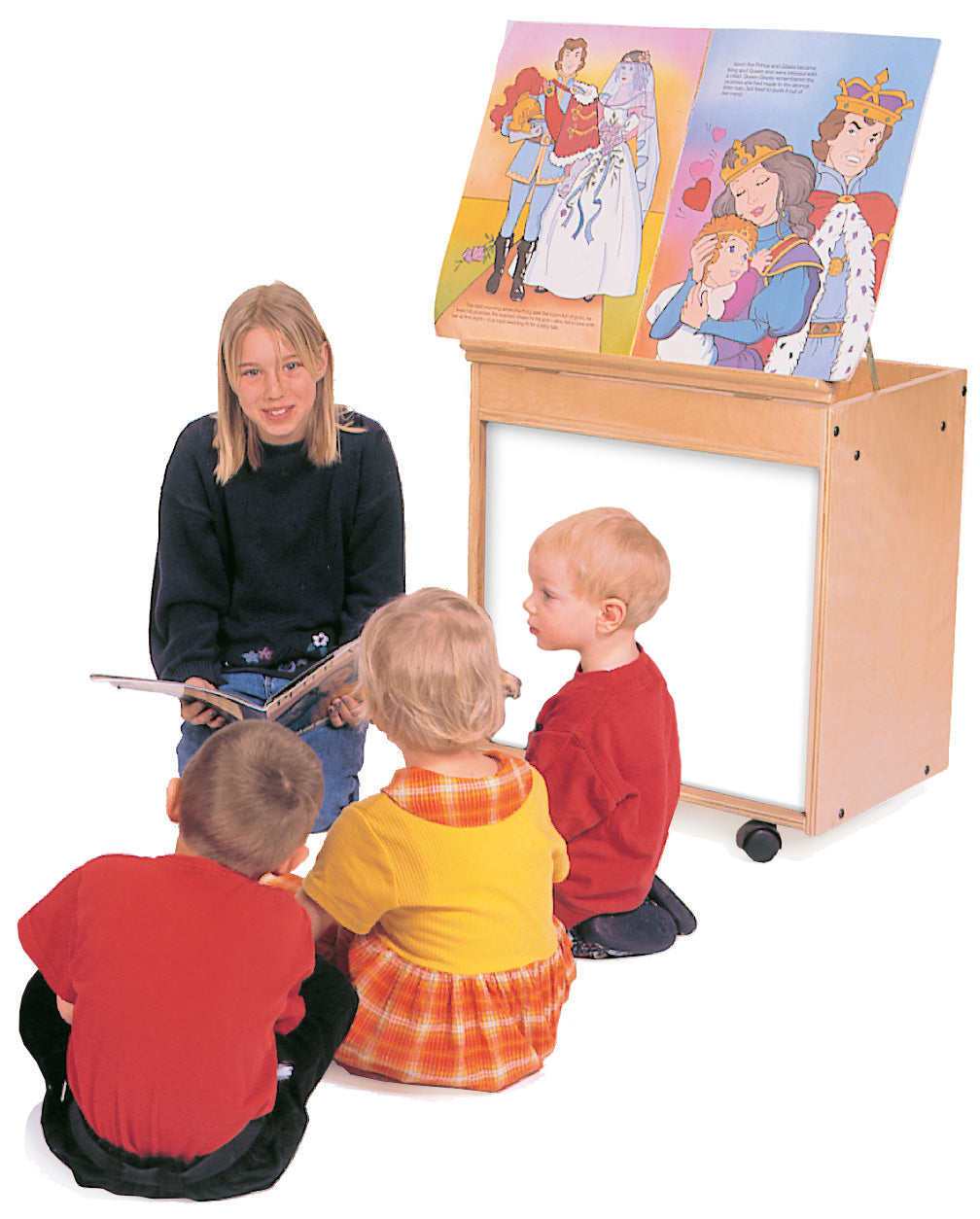 Big Book Easel with Markerboard (S327)