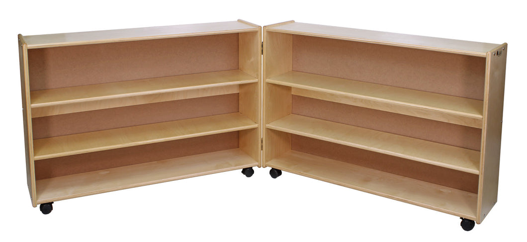 Adjustable 2 Shelf Hinged Units: Tall & Narrow (S350/9)