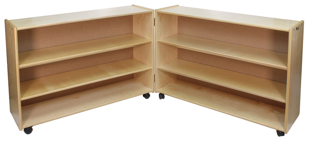 Adjustable 2 Shelf Hinged Units: Tall & Deep (S351/9)