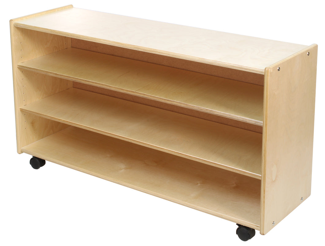 Adjustable 2 Shelf Units: Low & Deep (S356)