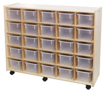 Load image into Gallery viewer, 25 Small Bin Cubby Storage Units - 2 Versions