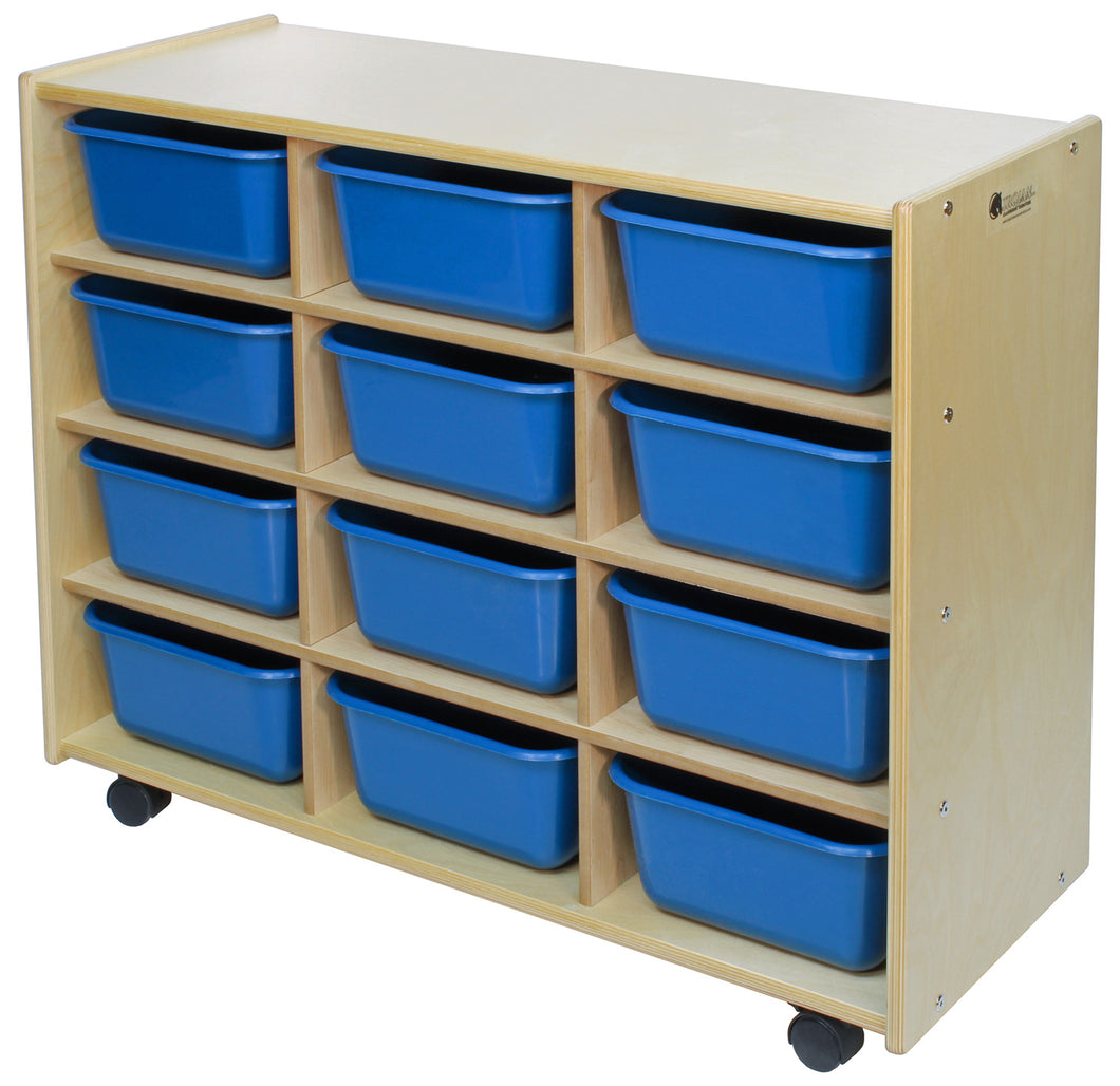 12 Cubby Storage Units - 4 Versions