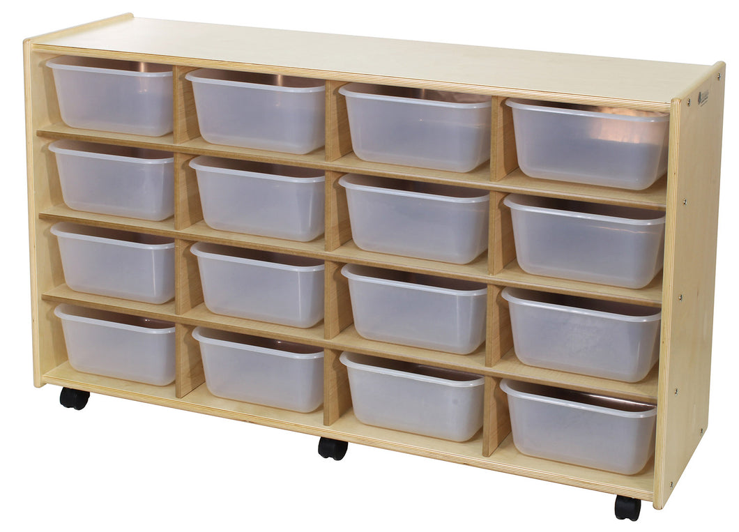 16 Cubby Storage Units - 4 Versions