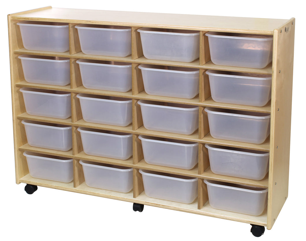 20 Cubby Storage Units - 4 Versions